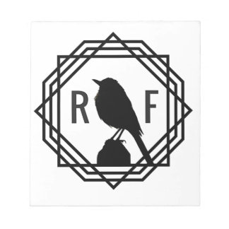 Red Finch Designs logo Notepad