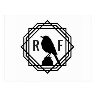 Red Finch Designs logo Postcard