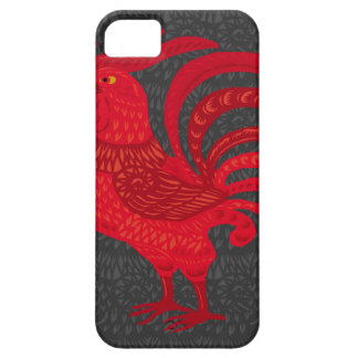 Red Fire Chicken Year iPhone 5 Cover