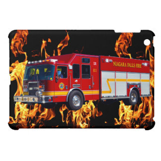 Red Fire Engine Fire-Fighter Truck Device Case iPad Mini Covers