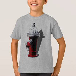 Red Fire Hydrant New York Tshirt