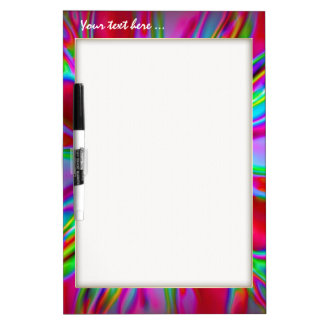 Red Fire Radiance Dry Erase Boards