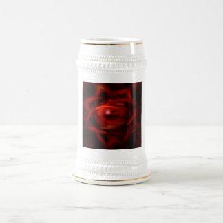 Red Fire Sphere Beer Stein