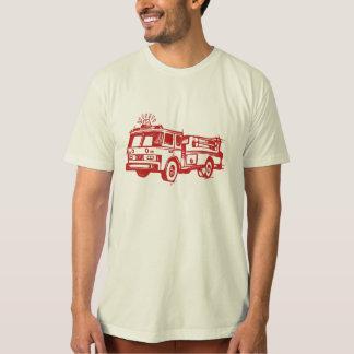 Red Fire Truck Tee Shirt