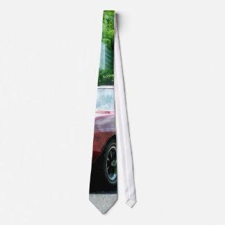 Red Firebird Convertible Tie