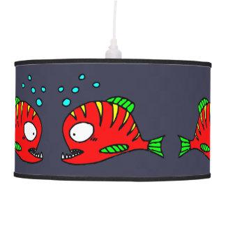 Red Fish Lamp