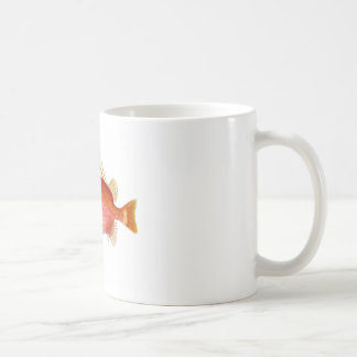 Red Fish no.6 Tropical Beach Home Decor gift Coffee Mug