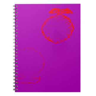 red fish spiral note books