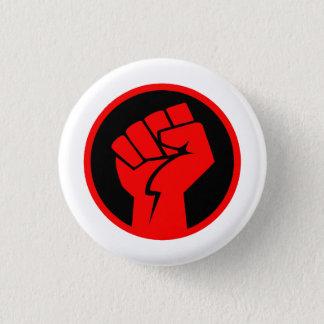 Red Fist of Communism: Political Philosophy 1 Inch Round Button