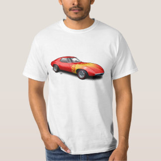 Red Flamed 1965 Banshee Prototype T-Shirt