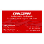 Red Flames Business Card