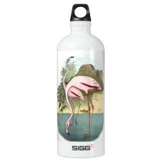 Red Flamingo Water Bottle