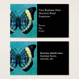 Red Flasher Butterfly Business Card