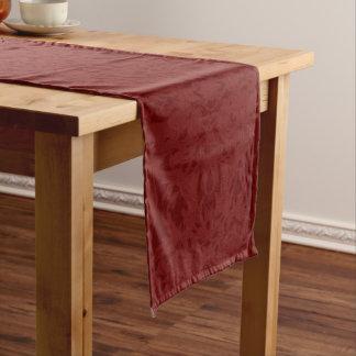 Red Fleury Long Table Runner