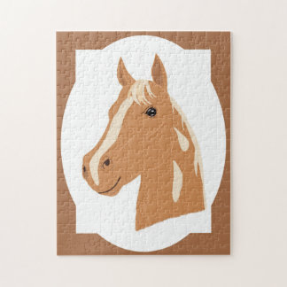 Red Flight the Happy Horse Jigsaw Puzzle