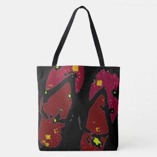 Red Flip Flop Tote Bag