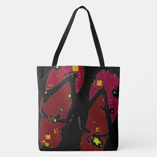 Red Flip Flop Tote Bag