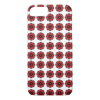 Red Floral - iPhone 7, Barely There iPhone 7 Case