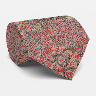 Red Floral Pattern tie, sophisticated, artsy, good Tie