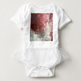 Red Flow Baby Bodysuit