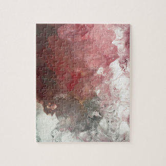 Red Flow Jigsaw Puzzle