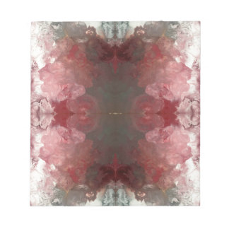 Red Flow Pattern Notepad