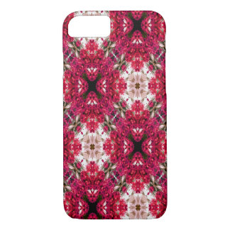 Red Flower Abstract Case-Mate iPhone Case