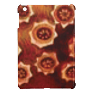 red flower cluster iPad mini cases