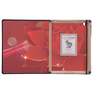 Red Flower Dream iPad Covers