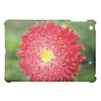 Red flower flowers iPad mini cases