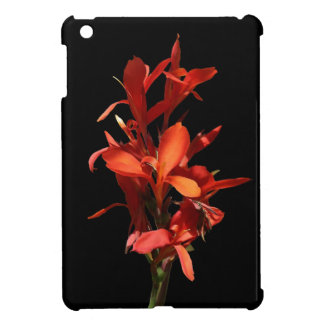 Red Flower Cover For The iPad Mini