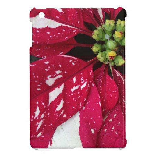 Red Flower iPad Mini Case