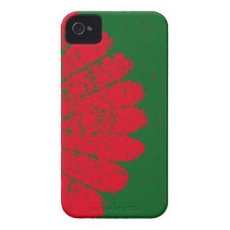 red flower iPhone 4 Case-Mate cases