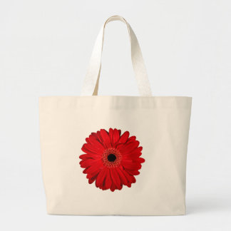 Red Flower Large Tote Bag