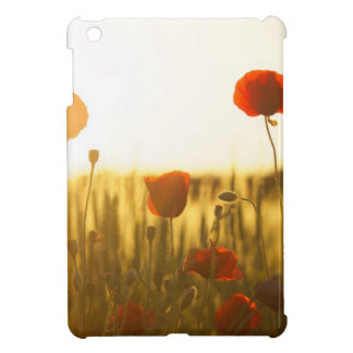 Red Flower Near White Flower during Daytime iPad Mini Cover