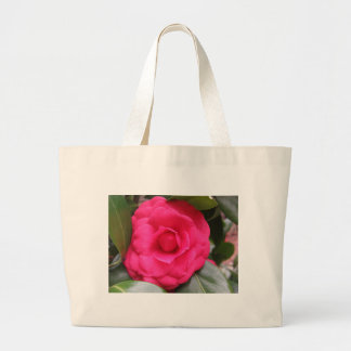 Red flower of Camellia japonica Rachele Odero Large Tote Bag
