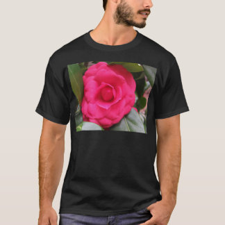 Red flower of Camellia japonica Rachele Odero T-Shirt