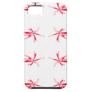 Red Flower Power Pattern. Case For The iPhone 5