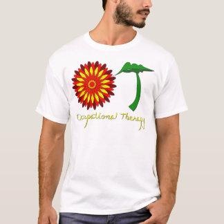Red Flower Power T-Shirt