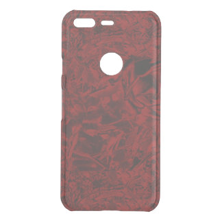 Red Flower Print Uncommon Google Pixel Case