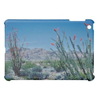 Red Flowering Ocotillo flowers iPad Mini Covers