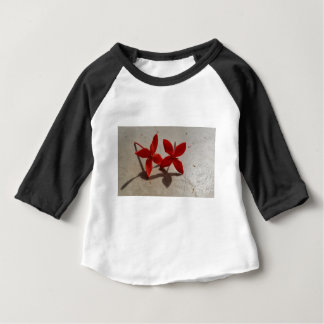 Red flowers baby T-Shirt