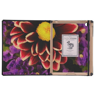 Red Flowers iPad Covers