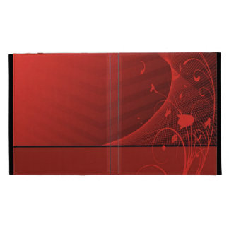red flowers Caseable Case iPad Case