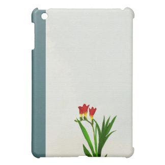red flowers iPad 1 Cases iPad Mini Case