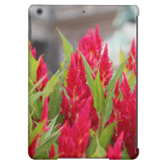 Red flowers iPad air cover
