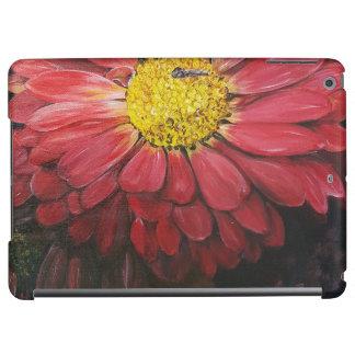 Red flowers ipad hoesje iPad air case