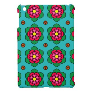 Red Flowers iPad Mini Covers