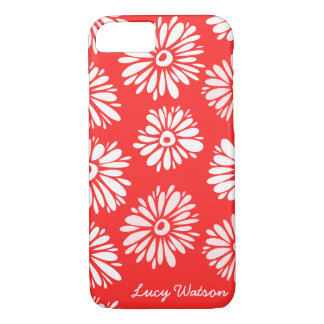 Red Flowers iPhone 7 case