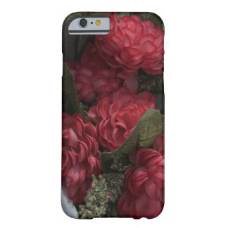 Red Flowers iPhone Barely There Phone Case